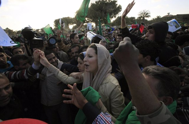 Aisha Gadafi, Hija Del Lider Libio