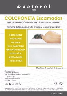 Colchoneta Que Previene Las Úlceras En Pacientes Encamados