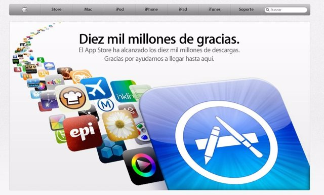 10000 Millones De Descargas Web Apple