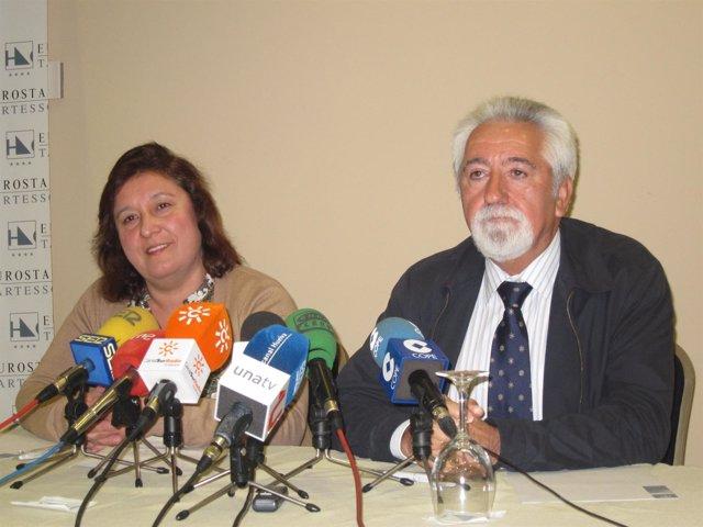 La Portavoza Del PSOE Y PA En Niebla.