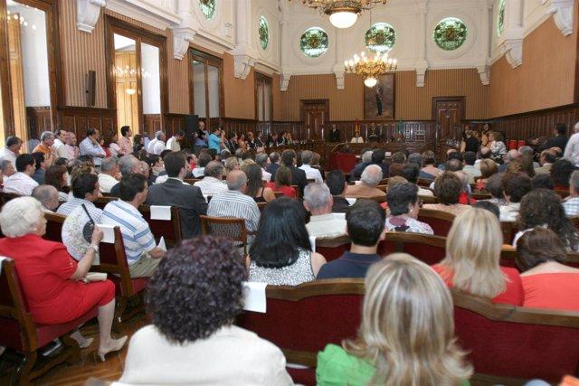 Pleno de la Diputación Provincial de Jaén