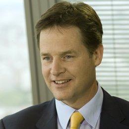 El viceprimer ministro británico, Nick Clegg