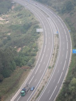Autopista A-66 En Asturias
