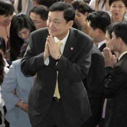Thaksin Shinawatra, ex primer ministro tailandia