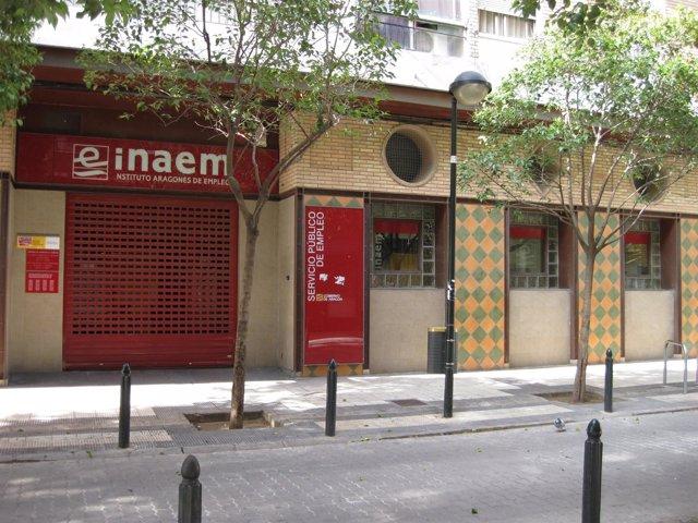 Una de las oficinas del INAEM
