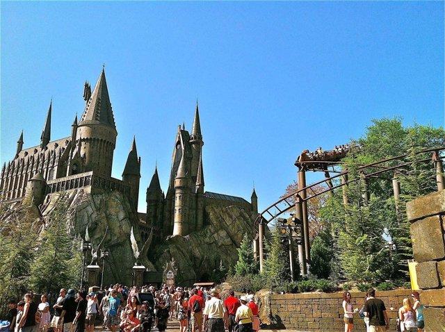 Imagen Del Parque Temático De Harry Potter Hogwarts
