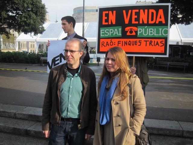 Ricard Gomà Y Janet Sanz, Concejales De ICV-Euia En Barcelona