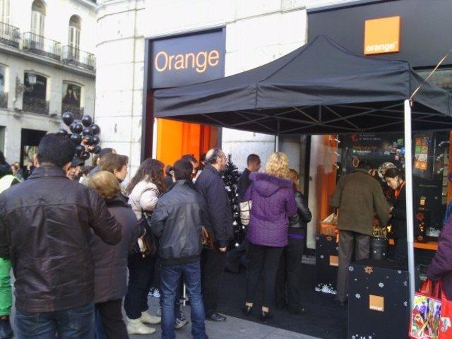 Inauguración Tienda Orange