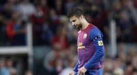 Fútbol.- Competición impone un partido de sanción a Gerard Piqué por su amonestación ante el Rayo Vallecano