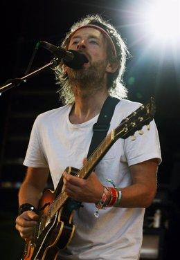 Thom Yorke, El Cantante De Radiohead