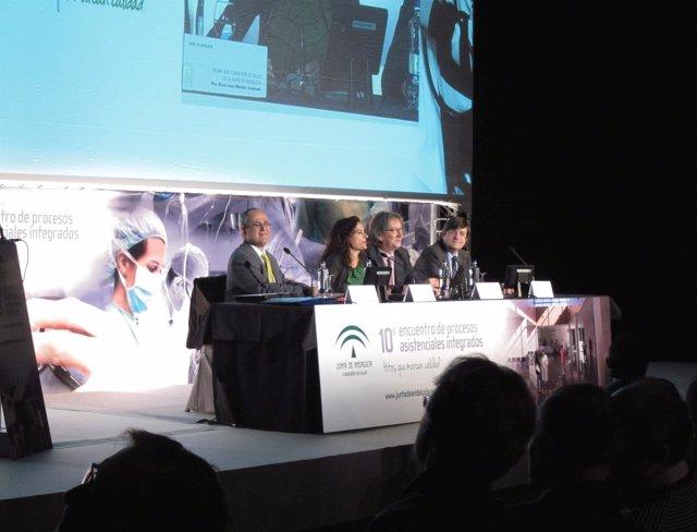 José Luis Rocha, María Jesús Montero, Enrique Cruz Y José Luis Gutiérrez