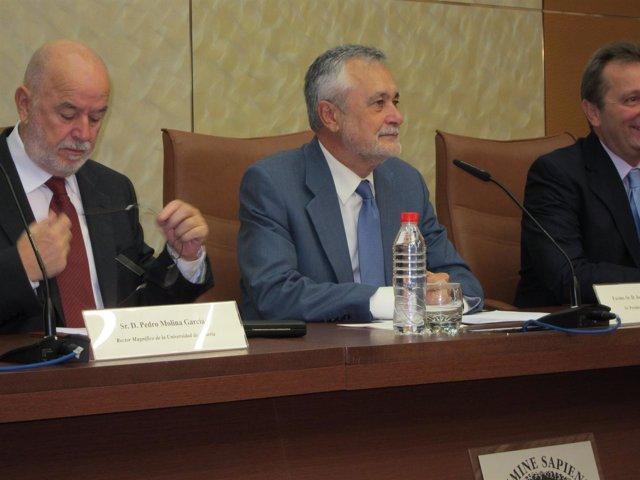 El Presidente De La Junta, José Antonio Griñán, En La UAL