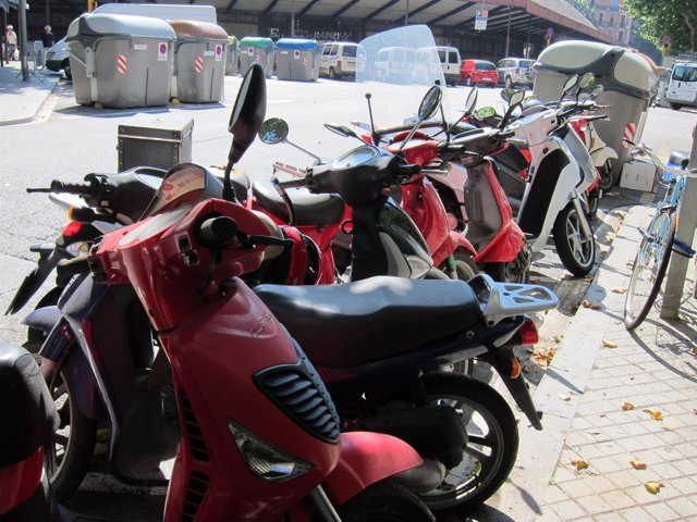 Motos Aparcadas, Motocicletas