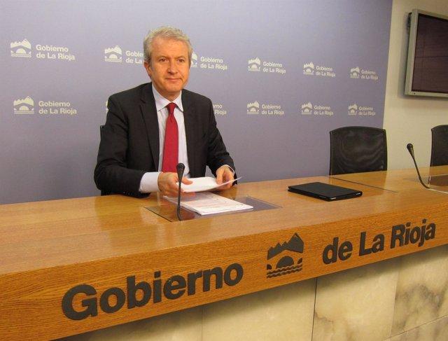 Emilio Del Río, Portavoz Del Gobierno De La Rioja