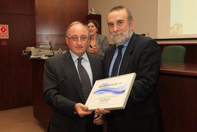 Entrega Del Premio En Tarragona