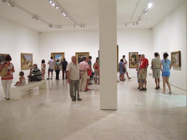 Interior Del Museo Carmen Thyssen Málaga