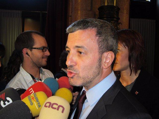 El diputado del PSC Jaume Collboni