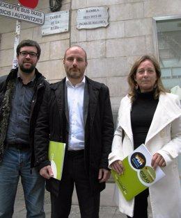 Toni Noguera, Antoni Verger Y Marisol Fernández