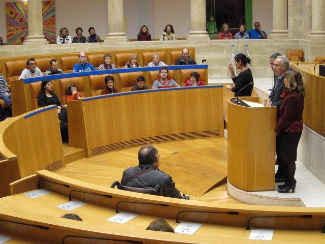 Imagen Del Acto En El Parlamento