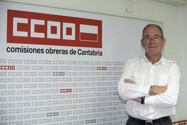 Vicente Arce, CCOO Cantabria.