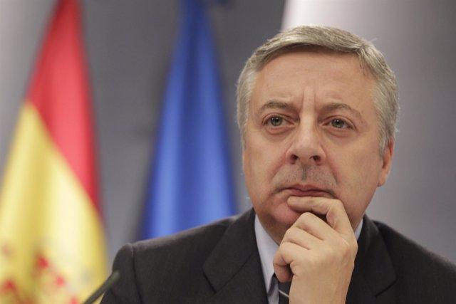 Ministro Del Fomento En Funciones, José Blanco