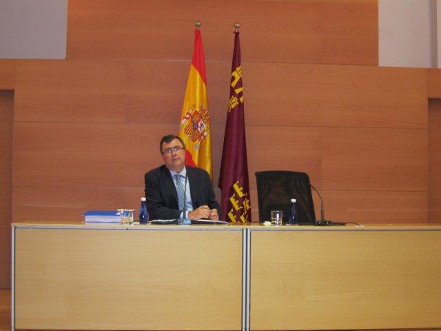 El Portavoz Del Ejecutivo Murciano, José Ballesta