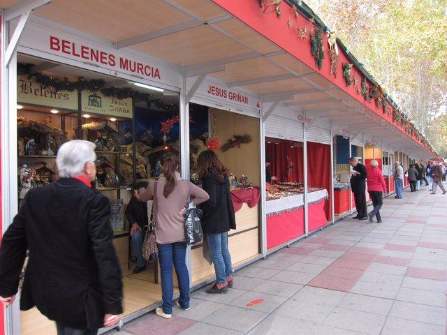 XXVII De La Muestra Comercial Y De Artesanía De Navidad De La Región De Murcia