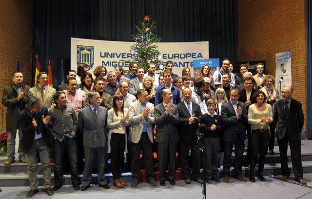 Participantes En El Villancico Solidario 'Valladolid Canta Para Ti'