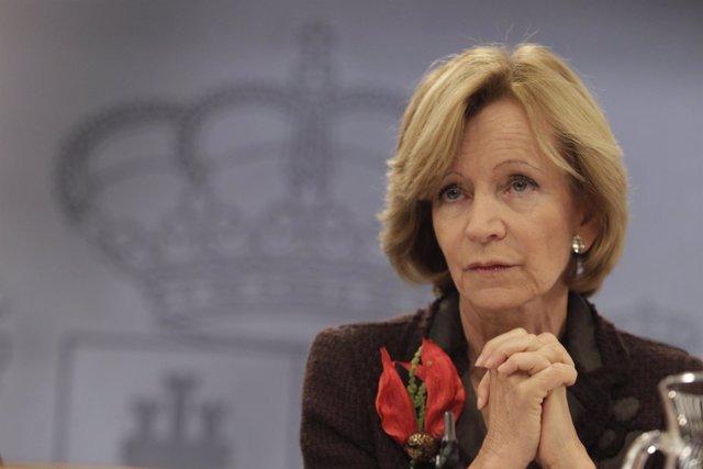 Vicepresidente Económica Del Gobierno En Funciones, Elena Salgado