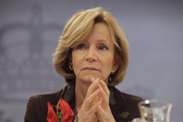 Vicepresidenta Segunda Del Gobierno Y Ministra De Economía Y Hacienda, Elena Sal