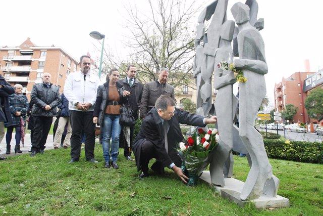 Homenaje A Las Víctimas De Getxo