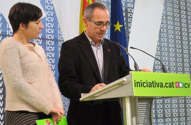 Joan Coscubiela Y Laia Ortiz (ICV)