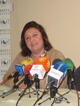 La Nueva Alcaldesa De Niebla, Laura Pichardo (PSOE).