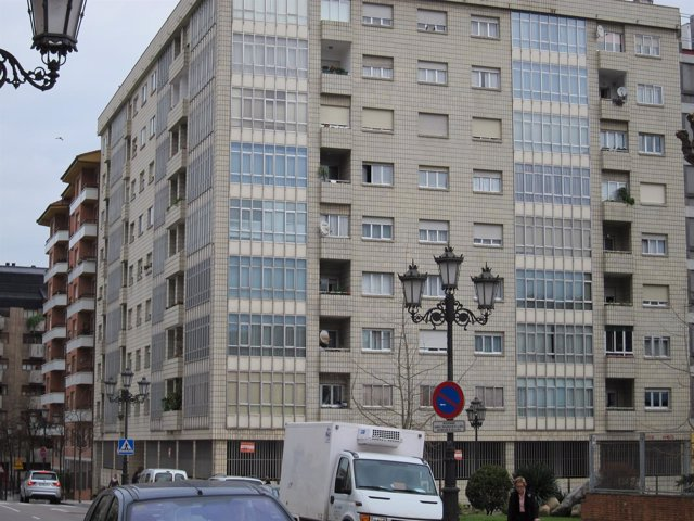 Edificio de viviendas en Oviedo