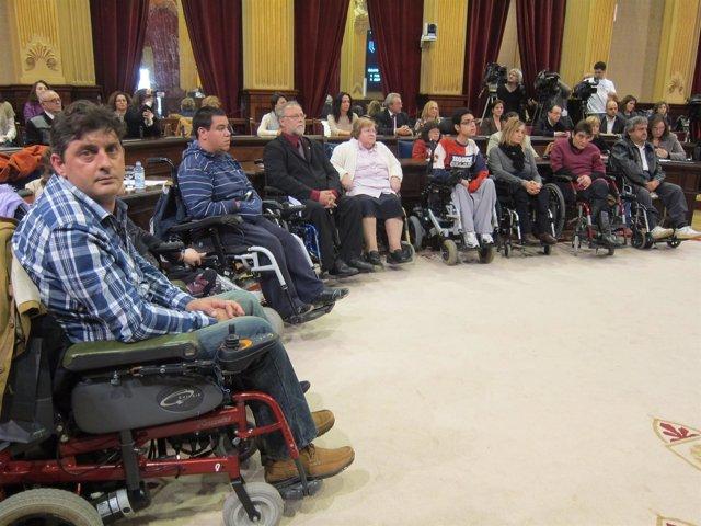 Personas Con Discapacidad En El Parlament