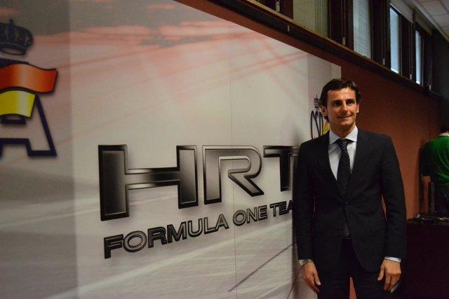 Pedro De La Rosa Presentación HRT