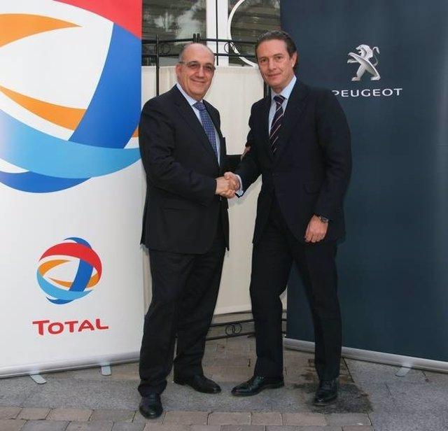 Peugeot Y Total Renuevan Su Acuerdo