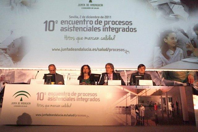 María Jesús Montero, En El 'X Encuentro De Procesos Asistenciales Integrados'