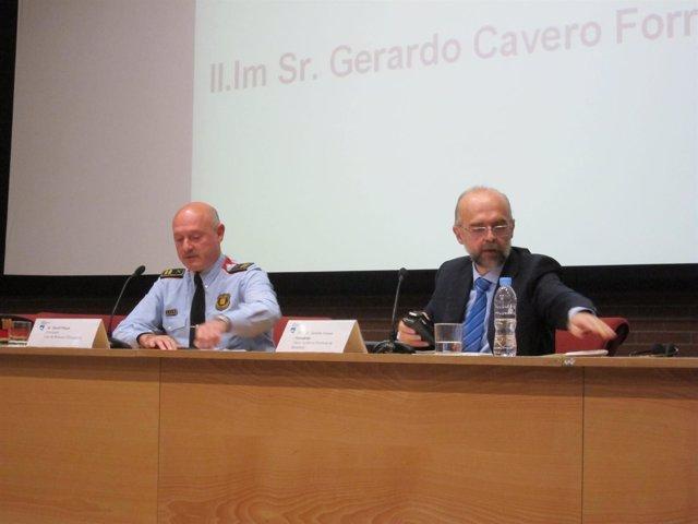 El Comisario De Mossos David Piqué Y El Fiscal Antidroga Gerardo Cavero