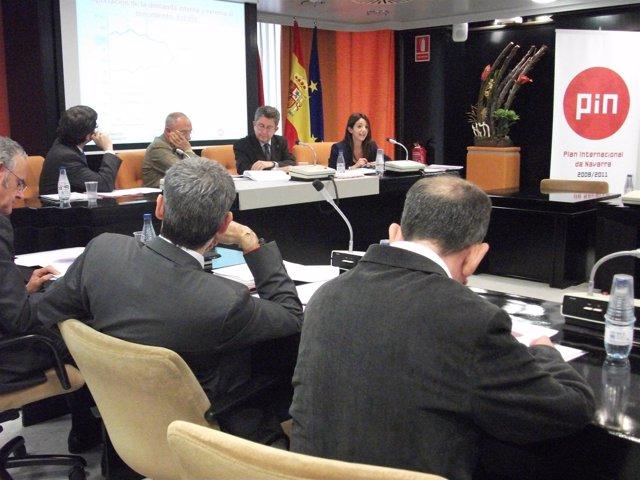 Reunión Del Consejo Internacional De Navarra.