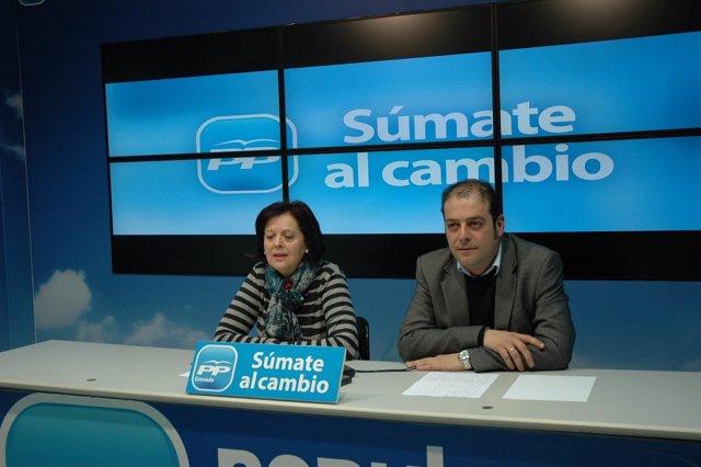 Alcalde De Dúrcal, José Manuel Pazo, Y Edil Purificación Martín