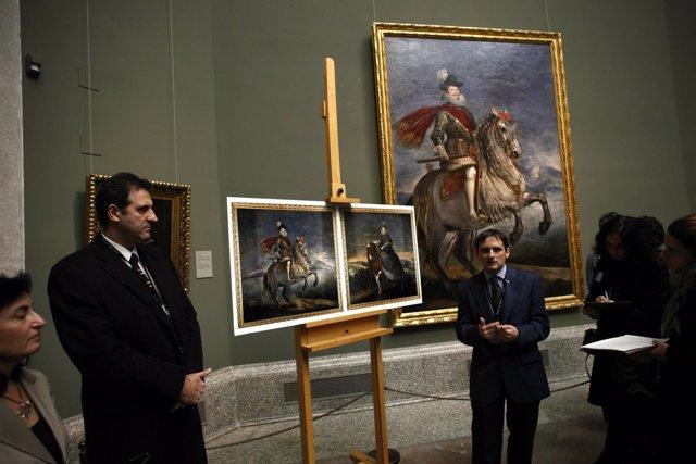 Retratos Ecuestres De Felipe III Y Margarita De Austria De Velázquez