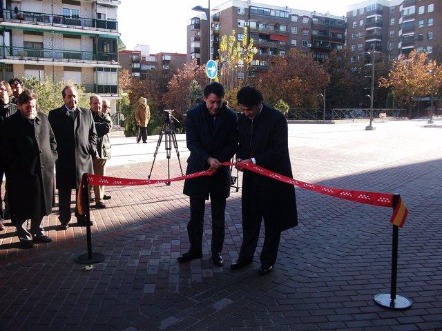 Ignacio González Inaugura La Remodelación De La Zona Centro De Alcorcón