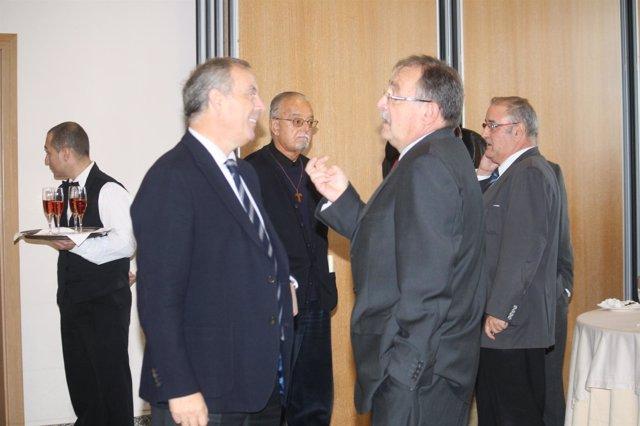El Secretario Xeral Del Psdeg, Pachi Vázquez, En El Acto De Fademga