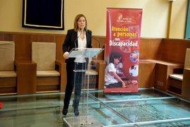 La Junta desarrolla en 2011 más de 330 actuaciones en materia de discapacidad