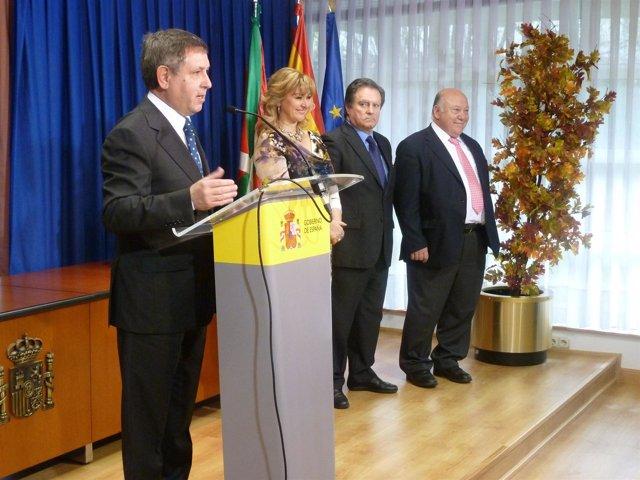 Mikel Cabieces En La Celebración Del 33 Aniversario De La Constitución