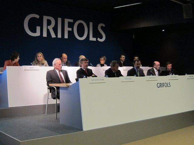 Junta De Accionistas De Grifols