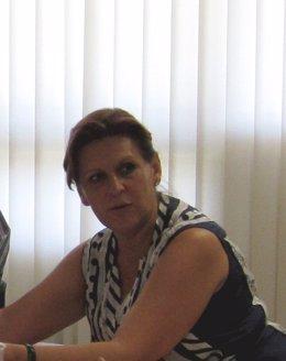 La Presidenta Del PSOE-A, Rosa Torres