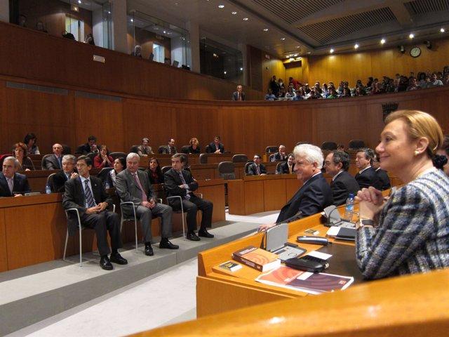Imagen Del Acto De Conmemoración De La Constitución.