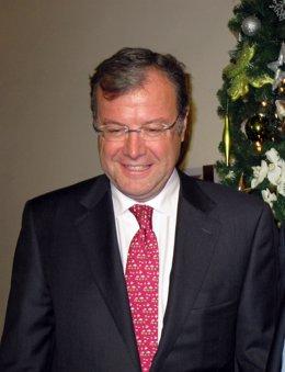 El Consejero De Fomento Y Medio Ambiente, Antonio Silván.